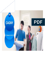 PG P&G Procter & Gamble CAGNY 2018