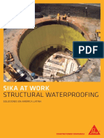 Sika at Work Structural Waterproofing