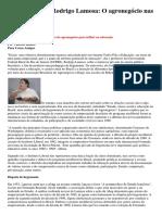 Entrevista Com Rodrigo Lamosa - Agronegocio Na Educação