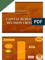 11 Cap Budgeting