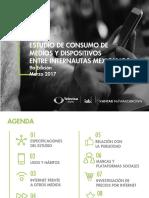 ESTUDIO DE CONSUMO DE MEDIOS Y DISPOSITIVOS ENTRE INTERNAUTAS MEXICANOS 9a Edición Marzo 2017