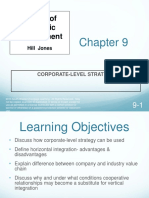 Chapter 9 Corporate Level Strategy