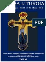 Diretório Litúrgico – Ortodoxia Em Casa – Nossa Liturgia – Março – 2018