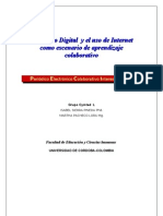 Modelo de Desarrollo Periódico Electrónico Colaborativo Interescolar PECI