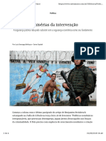 Miseria Da Intervencao