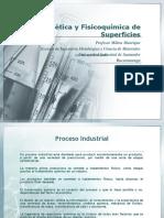 Cinética y Fisicoquímica de Superficies1