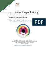finger training activities vf