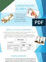Política Monetaria en Colombia Expo