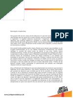 Discurso de Carles Puigdemont en el que renuncia de manera provisional a presidir la Generalitat