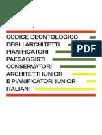 2017 Codice Deontologico01.09.2017