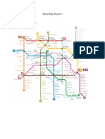 metro map project