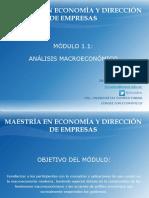 1. La Empresa y La Macroeconomía Presentacion