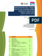 Sistematización Del Fondo Revolvente de Vivienda (FRV)_ 1999-2009
