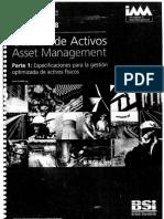PAS 55 - Gestión de Activos