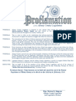 African-American History Month Proclamations