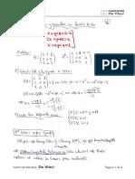 Discusión de Sistema de Ecuaciones