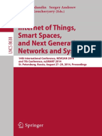 Internet of Things, Smart Spaces, And Next Generation Networks and Systems (2014)