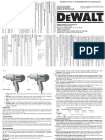 Manual Dewalt DW-292