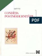 Harvey - Conditia Postmodernitatii