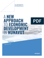 A New Approach to Economic Development in Nunavut
