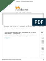 """""""Juego Parece…"""", Nuevo Artículo en """"El Aleph"""" _ Gaussianos"""