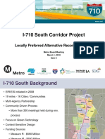 Presentation on 710 Corridor Project