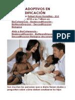 LOS HIJOS ADOPTIVOS EN BIODESCODIFICACIÓN