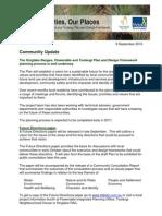 The Plan - Community Update Flowerdale 2 Oct