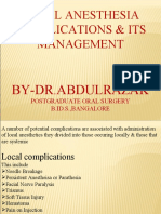 Local Anesthesia Part-2