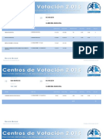 23 Centros de Votación Ixchiguán