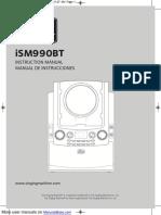 The Singing Machine Karaoke Machine ISM990BT