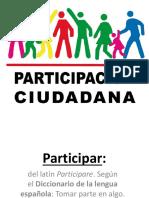Formas de Participación Ciudadana