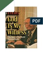God is My Witnesss