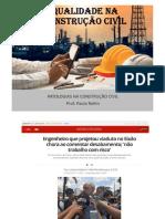 AULA 02 - Patologias na Construção Civil