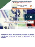 Lecture 5 - Entorno Macroeconomico de La Empresa