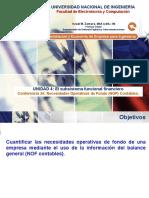 Lecture 24 - Necesidades Operativas de Fondos (NOF) Contables.