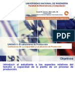 Lecture 36 - La Capacidad y Localización de La Producción