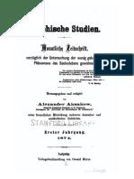 Psychische Studien v1 1874