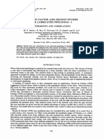 Friction Factor and Holdup Studies for Lubricated Pipelining—I. Experiments and Correlations
