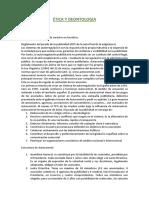 Deontologia y Etica de Clase de Publicidad