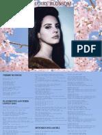 Digital Booklet - Cherry Blossom