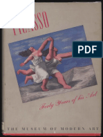 Picasso Forty Years of His Art MoMA 1939