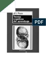 73088854 POZO J I 2006 Teorias Cognitivas Del Aprendizaje Editorial MORATA Espana
