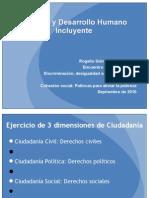 Politicas sociales para la inclusión Seminario CONAPRED sep 2010