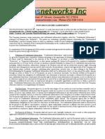 NDA Agreement Biosensor