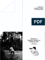 Methods of Statistical Analysis