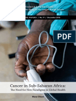 Cancer in Sub-Saharan Africa 2015