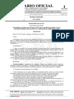 ResEx2167 Interaccion Prestadores Con Seguro Público en MLE