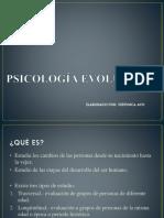 2. PSICOLOGÍA EVOLUTIVA