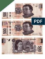 Billetes y Monedas Verdaderos